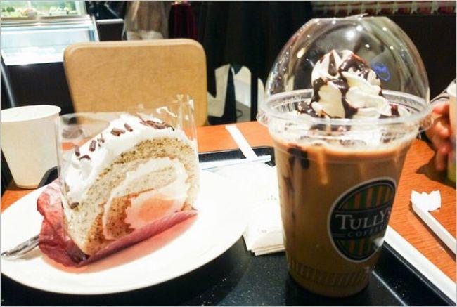 タリーズのカフェモカ