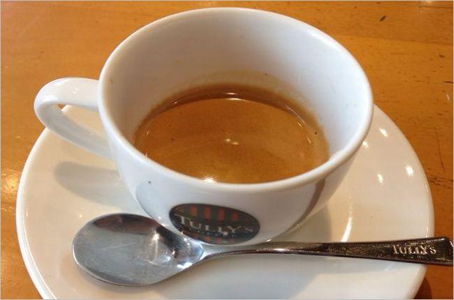 タリーズのエスプレッソコーヒー